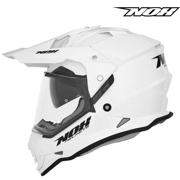Moto oblečení - Helma NOX N312 bílá