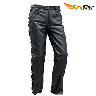 Kalhoty a chapsy - Kalhoty DARKBIKER DESTROYER