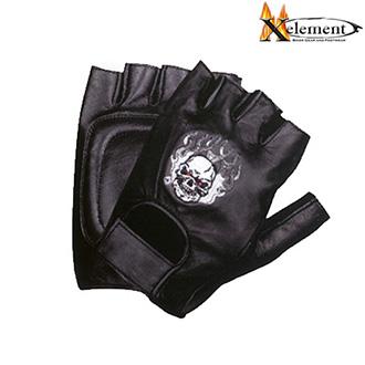 Rukavice - Rukavice XELEMENT BURNER SKULL - bezprstové