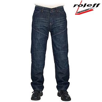 Moto oblečení - Kalhoty ROLEFF KEVLAR JEANS BLUE