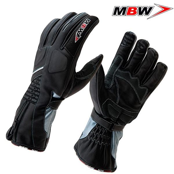 Rukavice MBW ELI - pohodlné kožené moto rukavice  ffa6751889