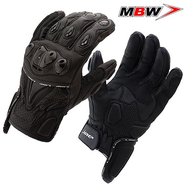 Rukavice MBW DUSTIN - krátké kožené rukavice na motorku  98a5799fb24