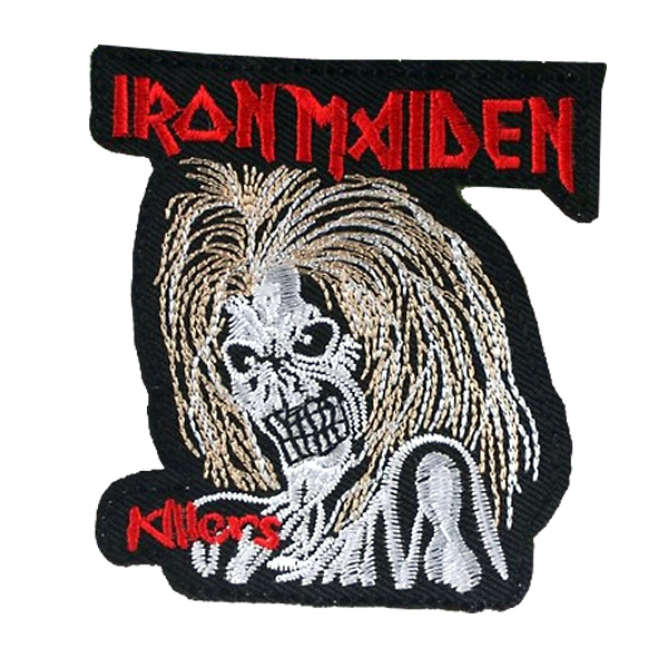 Volný čas a dárky - Nášivka Iron Maiden malá b733689b1d