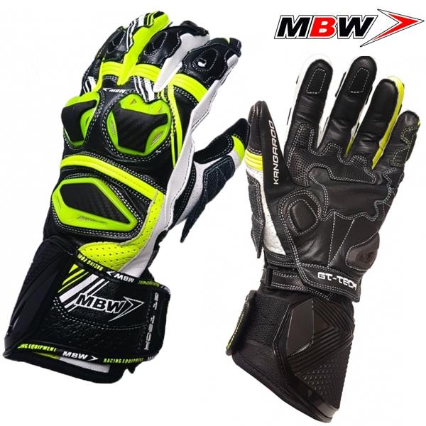 bf04fdaa0 Rukavice MBW GT-TECH GREEN - sportovní moto rukavice | MBW ...