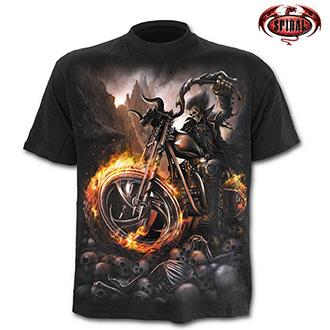 Tričko krátký rukáv pánské - SPIRAL Wheels of Fire