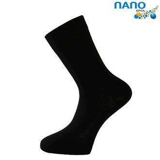 Nanosox Comfort Plus - ponožky černé