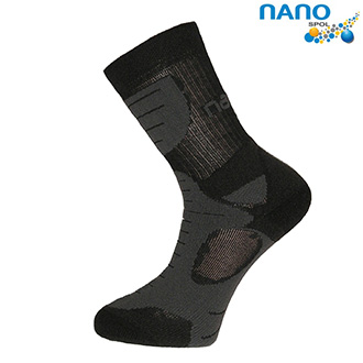 Nanosox An-Atomic - anatomické ponožky antracit