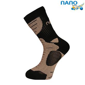 Nanosox An-Atomic - anatomické ponožky pískové