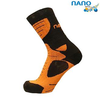 Nanosox An-Atomic - anatomické ponožky orange