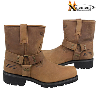 Boty XELEMENT HARNESS CRUDY SHORT BROWN