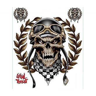 Nálepka - arch Racing Skull