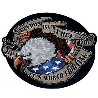 Nášivka Freedom Eagle 30,5 x 33 cm