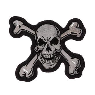 Nášivka Skull N´ Bones 10 x 8,5 cm