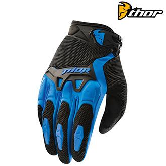 MX rukavice dětské - THOR Spectrum Blue