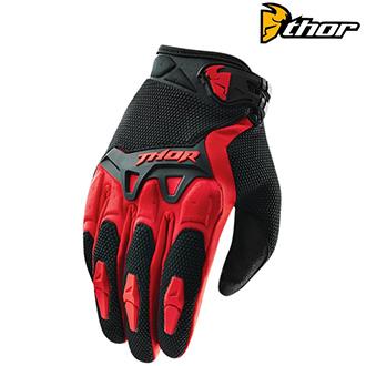 MX rukavice dětské - THOR Spectrum Red