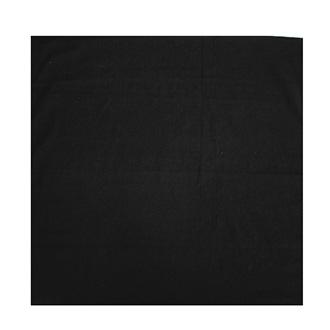 Šátek bavlna 80x80 - Black