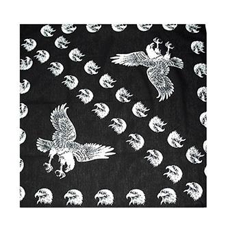 Šátek bavlna 80x80 - Eagles
