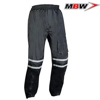 Kalhoty MBW RAIN BLACK