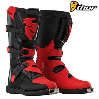 Boty THOR BLITZ BLACK/RED
