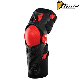 Chrániče THOR FORCE XP KNEE GUARD RED