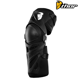 Chrániče THOR FORCE XP KNEE GUARD BLACK