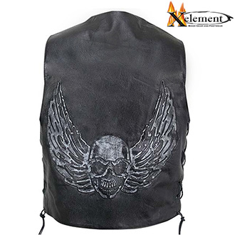 Vesta XELEMENT FLY SKULL BLACK