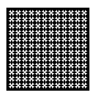 Šátek bavlna 80x80 - Cross