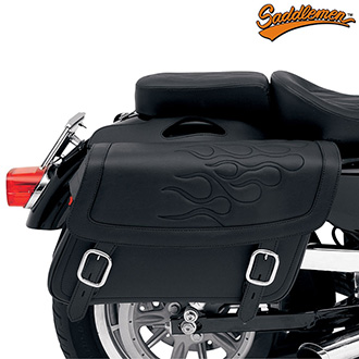 Moto Brašny SADDLEMEN Highwayman Tattoo Black - Large
