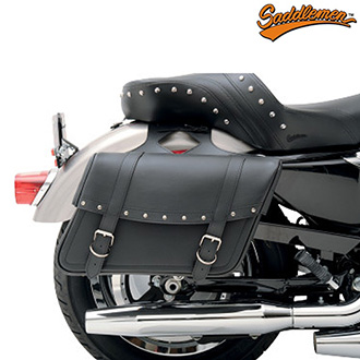 Moto Brašny SADDLEMEN Highwayman Slant Rivet - Jumbo