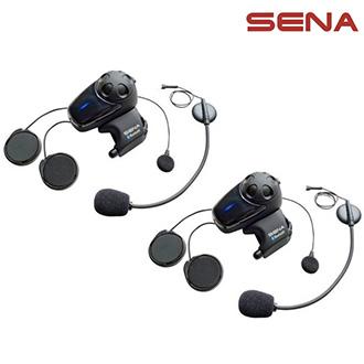 Intercom SENA SMH-10D-11 Bluetooth - univerzální sada pro 2 helmy