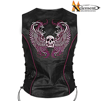 Vesta XELEMENT LADY PURPLE SKULL