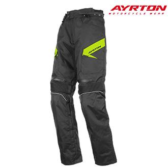 Kalhoty AYRTON BROCK BLACK FLUO