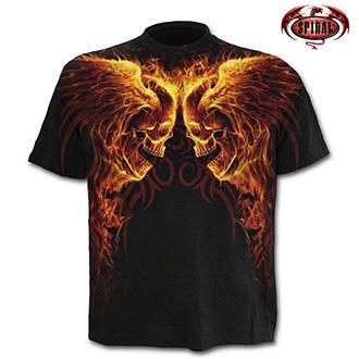 Tričko krátký rukáv pánské - SPIRAL Burn in Hell