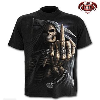 Tričko krátký rukáv pánské - SPIRAL Bone Finger