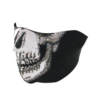 Maska Half Skull Face