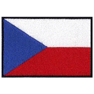 Nášivka vlajka Česká Republika