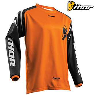 dětský dres THOR YOUTH SECTOR ORANGE