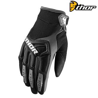 MX rukavice dětské - THOR SPECTRUM S8Y BLACK