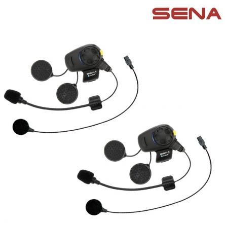 Intercom SENA SMH5-FM - Bluetooth sada pro 2 helmy