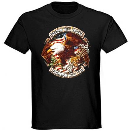 Tričko krátký rukáv - Freedom will Prevail