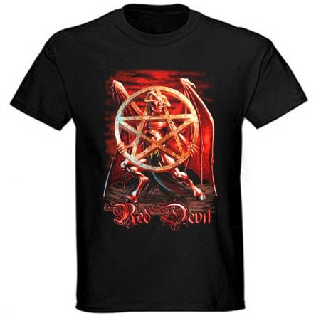Tričko krátký rukáv - Red Devil