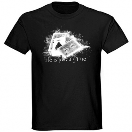 Tričko krátký rukáv - Life is Just a Game