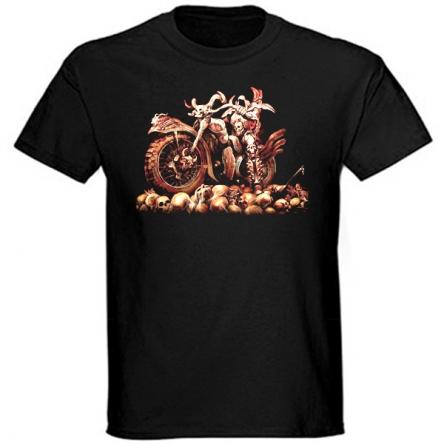 Tričko krátký rukáv - Devourer of Skulls