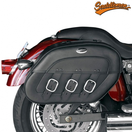 Moto Brašny SADDLEMEN S4 Rigid-Mount Drifter, Specific-Fit Quick-Disconnect