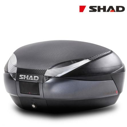 Vrchní kufr SHAD SH48 tmavě šedý