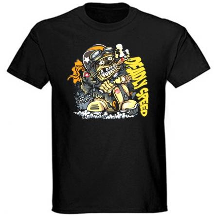 Tričko krátký rukáv - Deadly Speed
