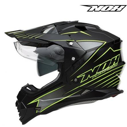 Helma NOX N312 (ČERNÁ/ŽLUTÁ)
