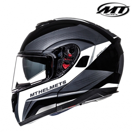 Helma MT ATOM TARMAC BLACK/WHITE