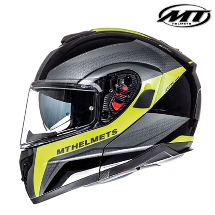 Helma MT ATOM TARMAC BLACK/YELLOW