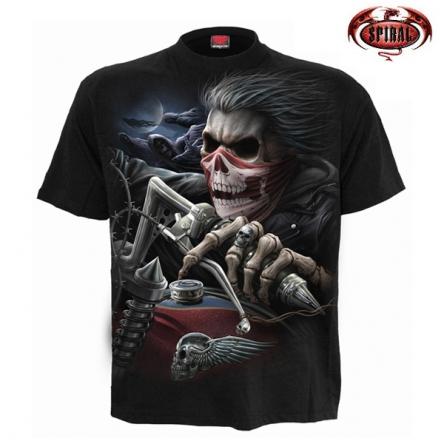 Tričko krátký rukáv pánské - SPIRAL Soul Rider